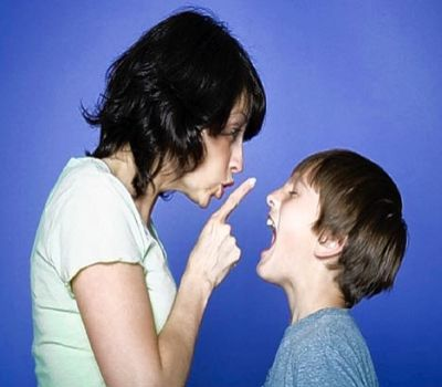 parent disciplining Youth Versus Teenager