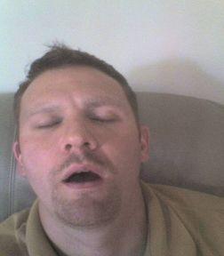 paul sleeping