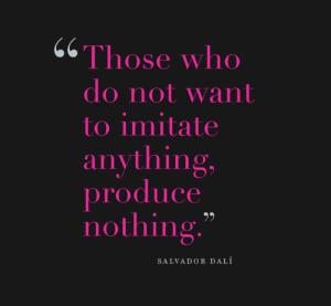 Dali-Imitate-Quote